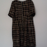 Exposed zip and another winter BHL Elisalex dress