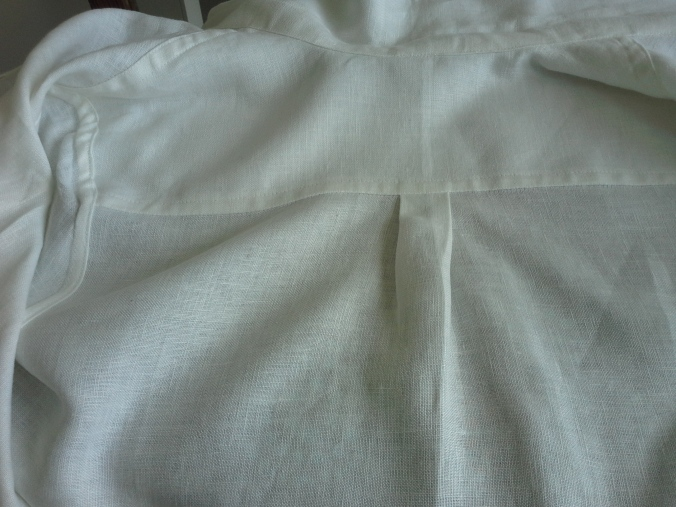 flat felled and French seams!
