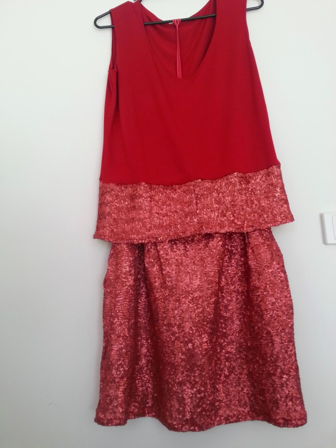 barbara jane made sequin skirt and top